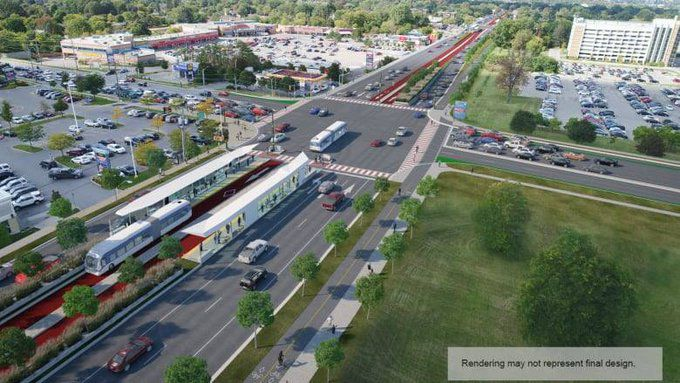 Lowcountry Rapid Transit System rendering