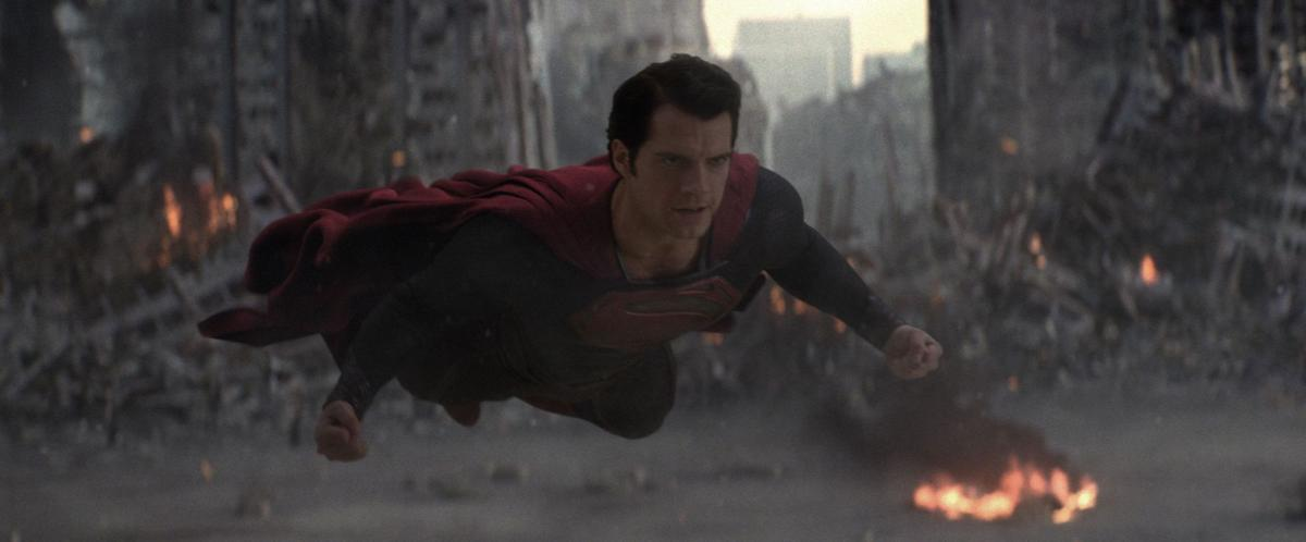 Superman has heart of stone in 'Man of Steel'