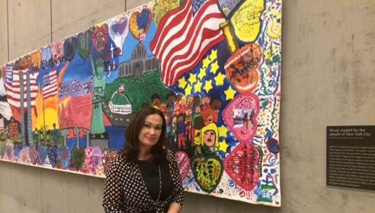 Banner from Porter-Gaud students now hangs in 9/11 Museum