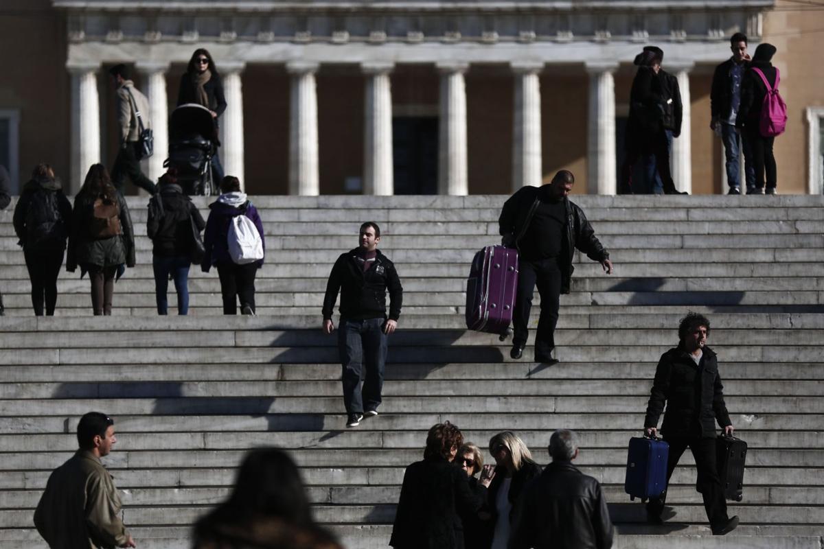 Greece's ongoing euro crisis