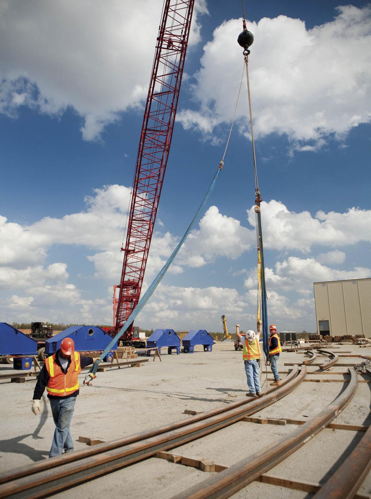 After damage, feds inspect construction at SC nuke plant