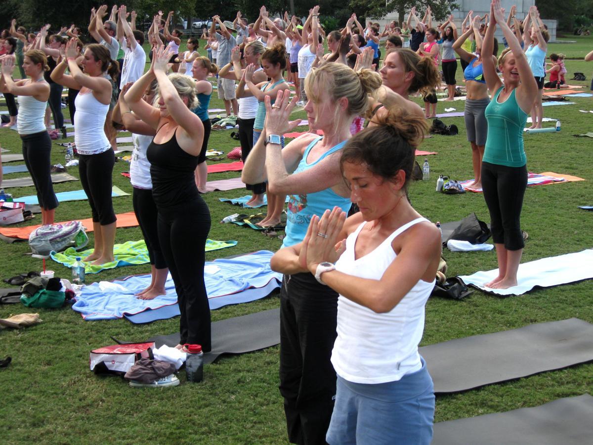 Yoga Marathon for Louie's Kids in ninth year