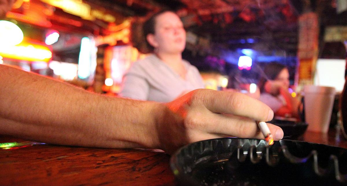 Bar owner sues over smoking ban