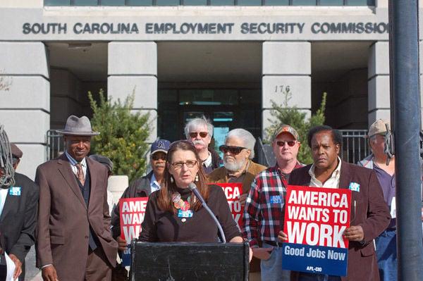 Rally: Keep jobless benefits