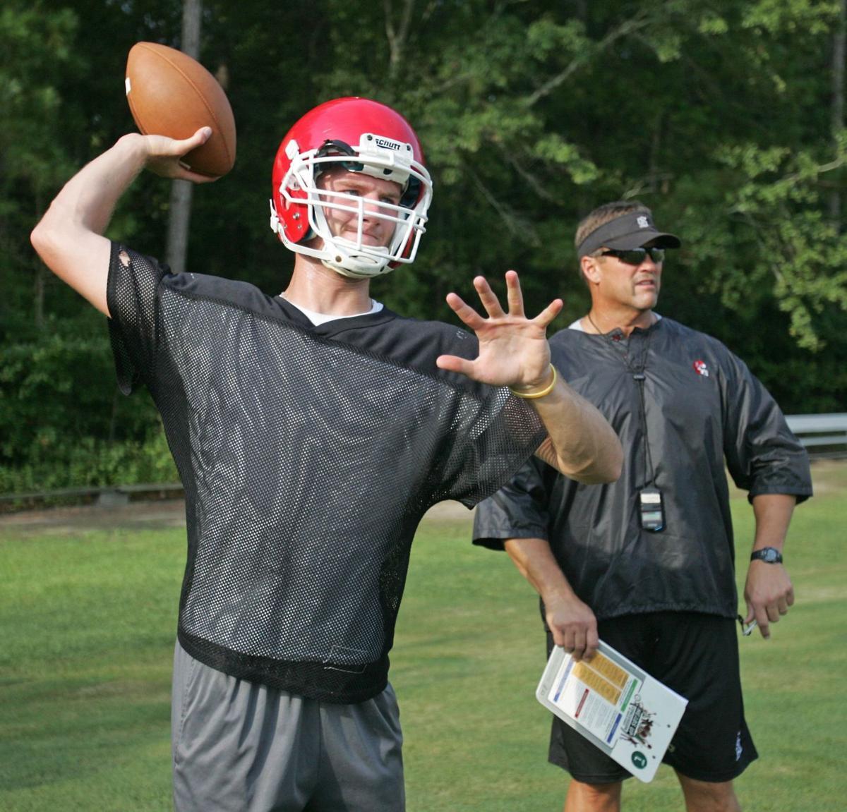 Coach Joe Marion, QB Jamison Mobbs begin new football era at Stratford High School