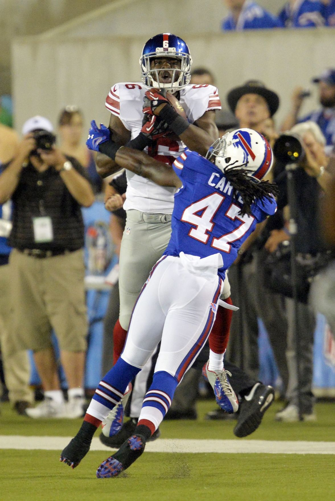 Three in a row: North Charleston's Corey Washington scores another game-winner for New York Giants
