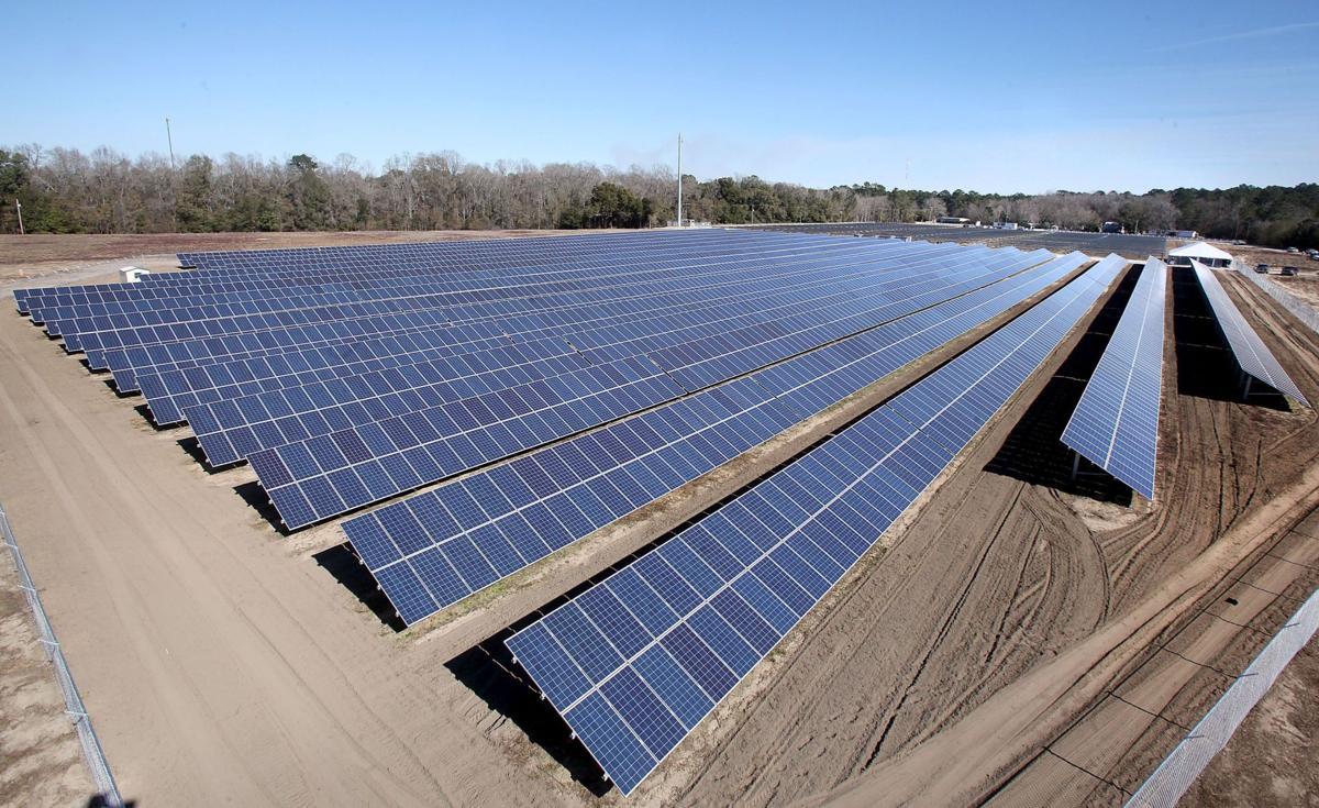 Solar farm gives Lowcountry a new jolt of sun power