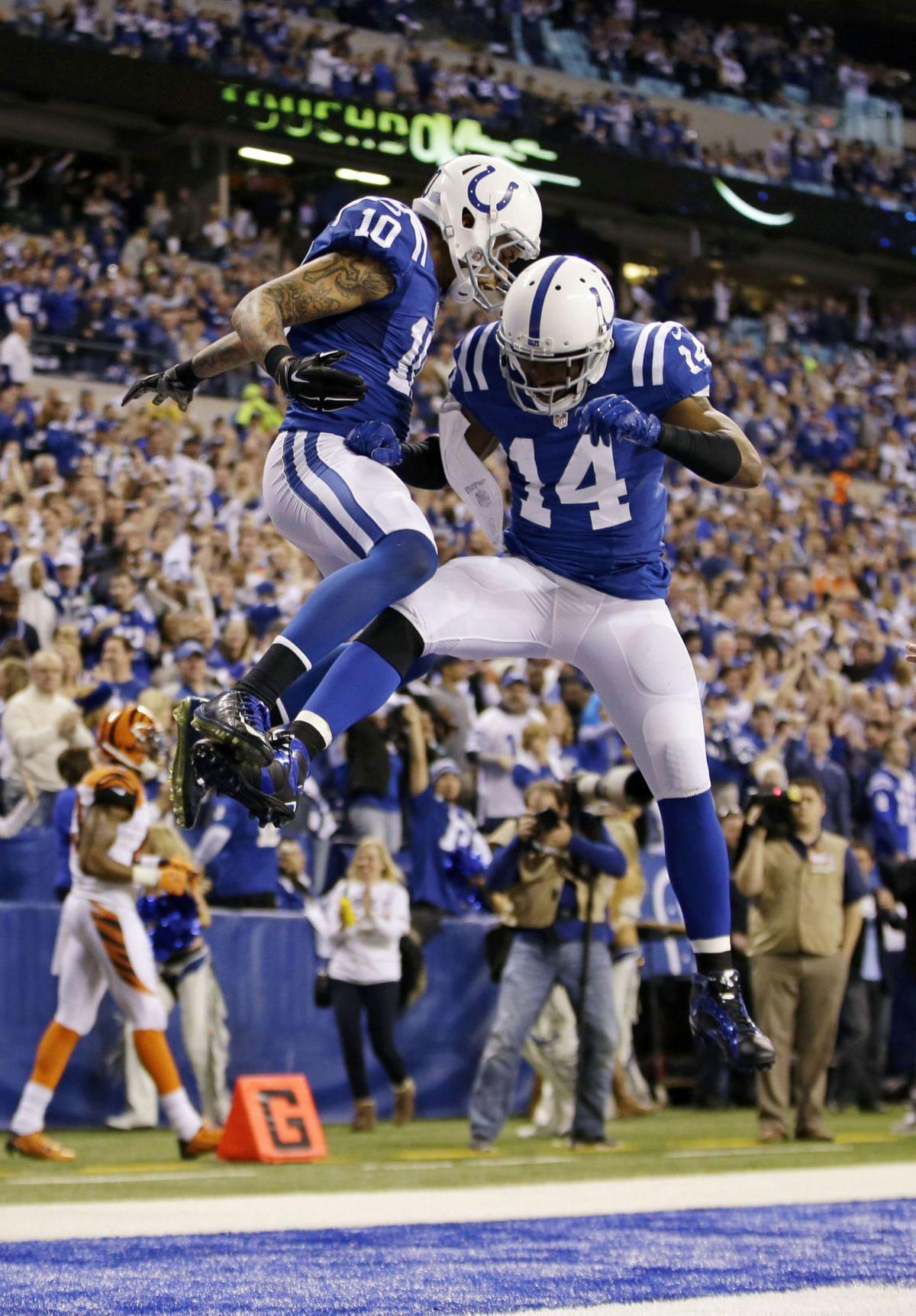 Colts pull away from Bengals