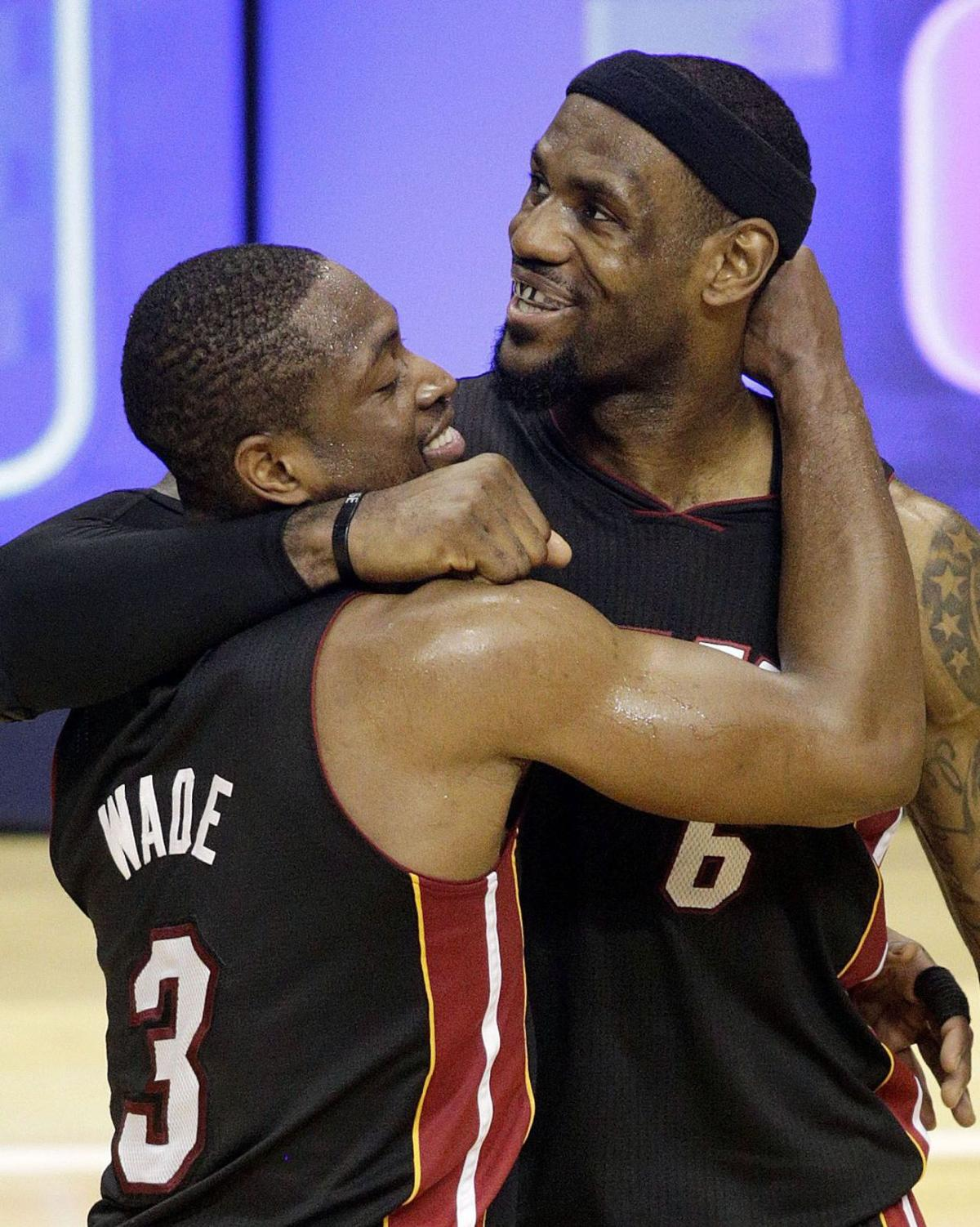 James, Wade help Heat get even with Indiana