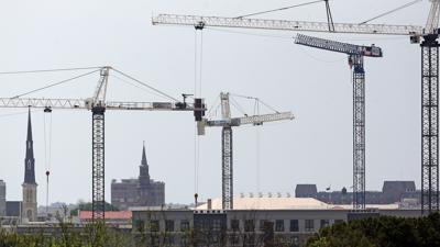 Hotel cranes