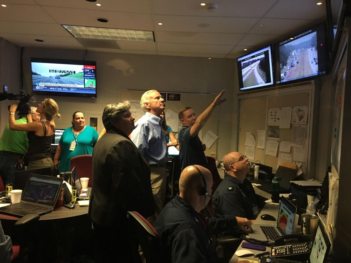 McMaster looks at evacuation routes (copy) (copy)
