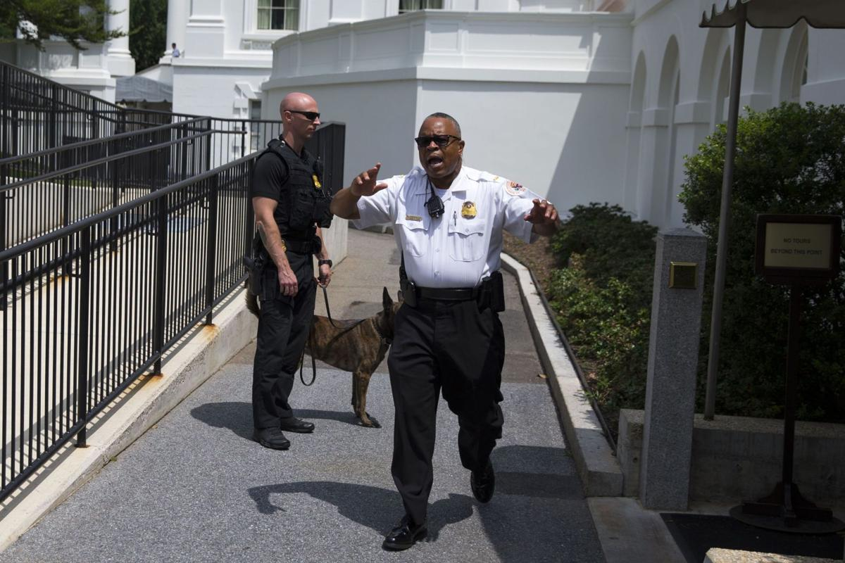 White House press briefing interrupted after bomb threat