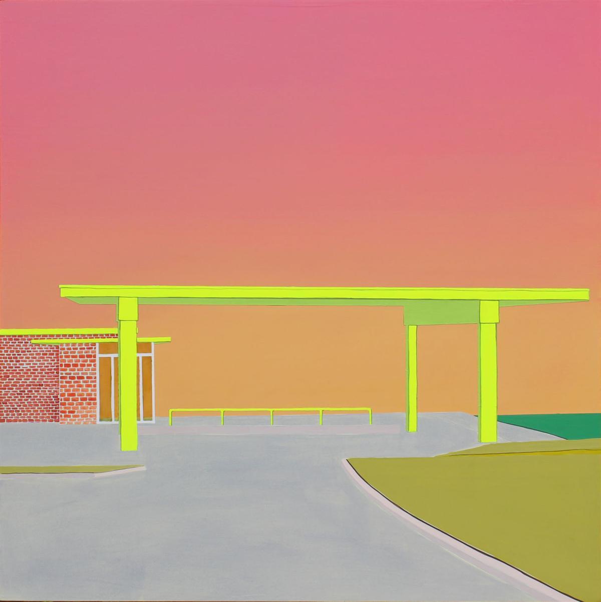 'Gas Station Sunrise'