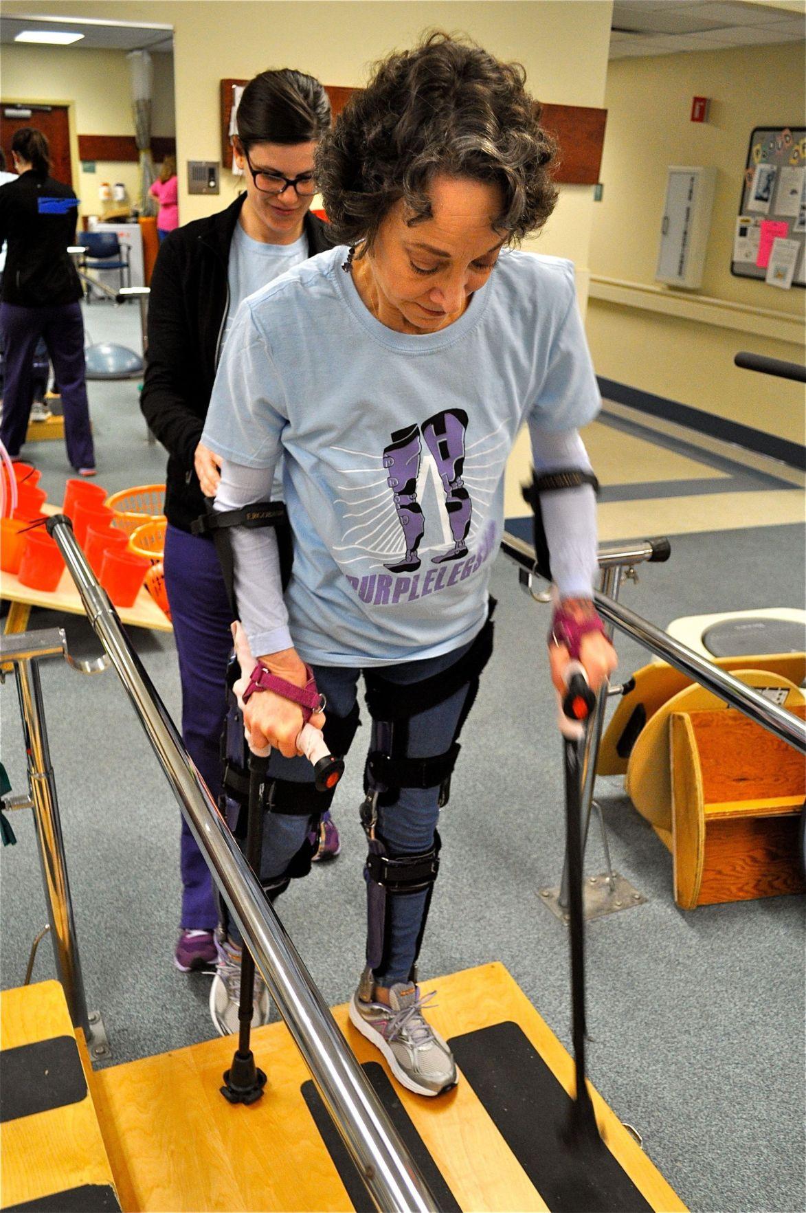 Paralyzed dancer to attempt Bridge Run