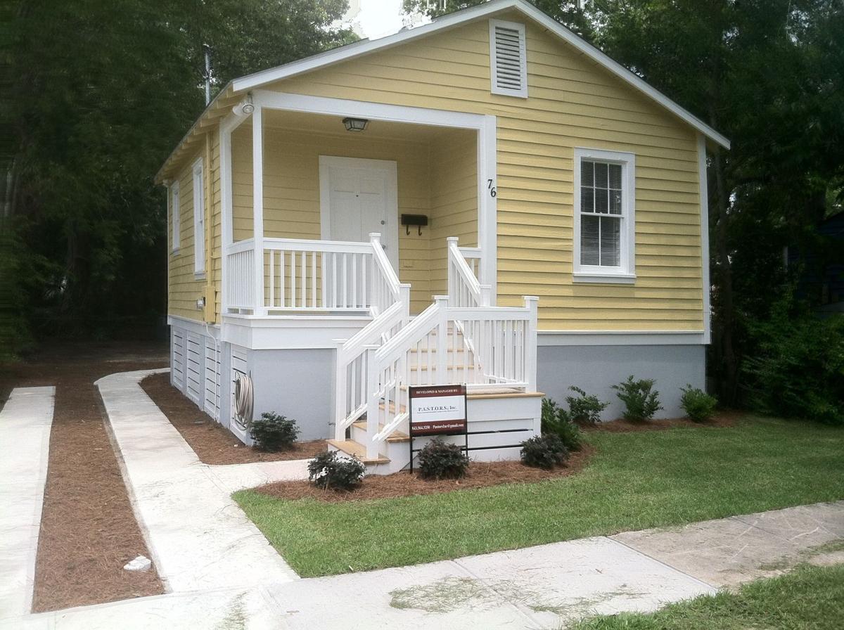 Renovated Charleston home dedication held today