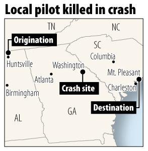 Ladson man ID'd as pilot killed in crash