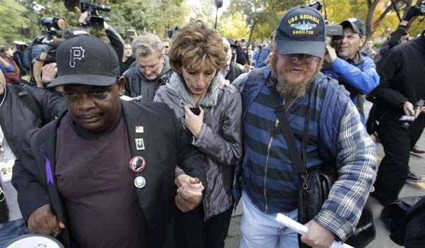 UC Davis chief placed on leave in pepper-spray case