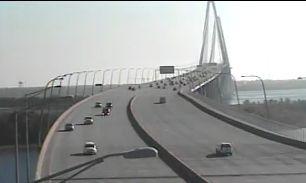 Major roads around Charleston clear