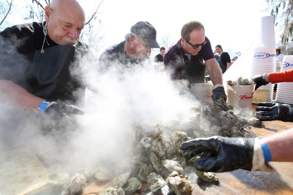 Oyster festival fun by the bucketful
