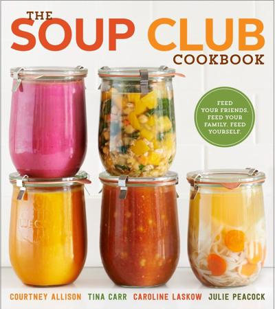 Books for cooks 'The Soup Club Cookbook' and 'A Good Food Day'