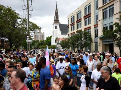 The Hate Won't Win Unity Walk will be held Saturday