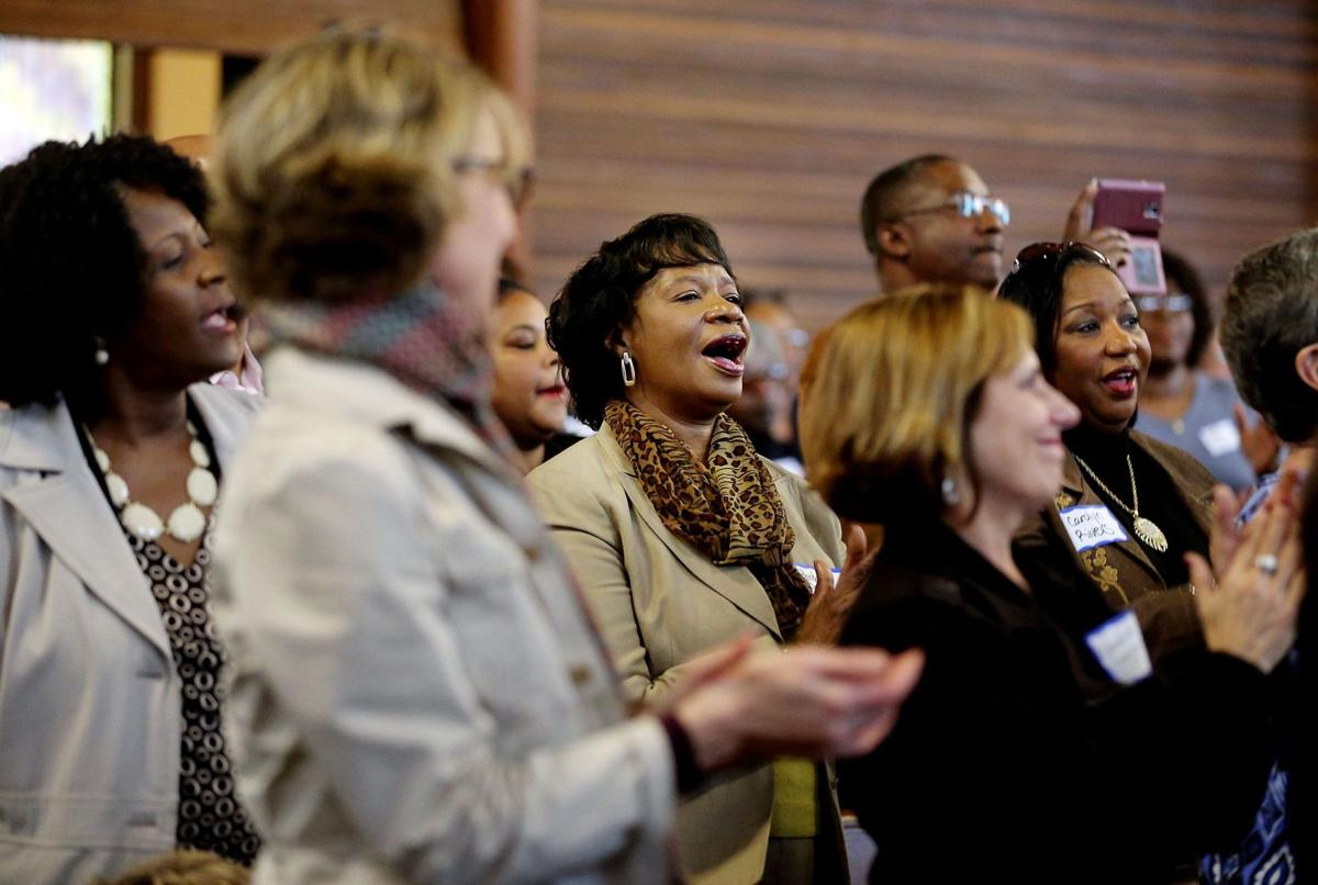 While segregated churches remain the norm, efforts made to effect change