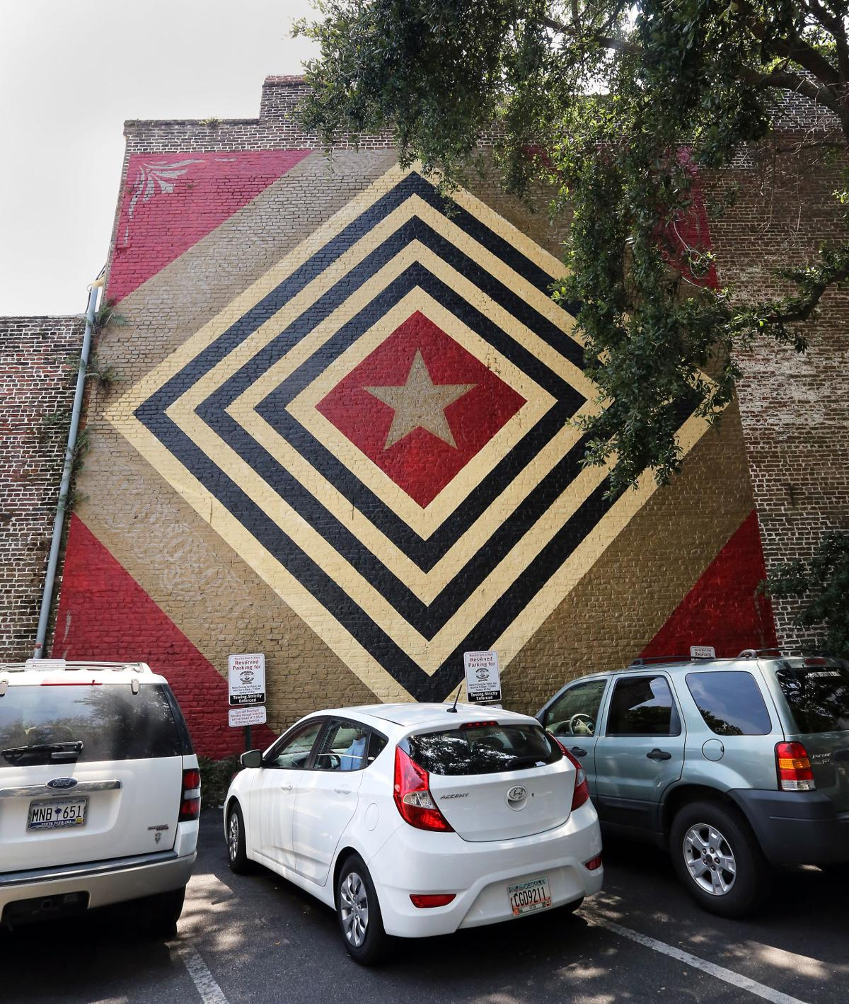 Murals are filling in the Charleston cityscape  Here's a quick guide