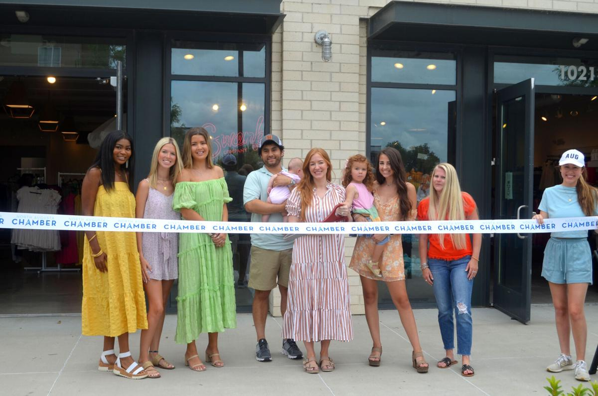 Ribbon Cutting for the Swank Company location at SRP Park