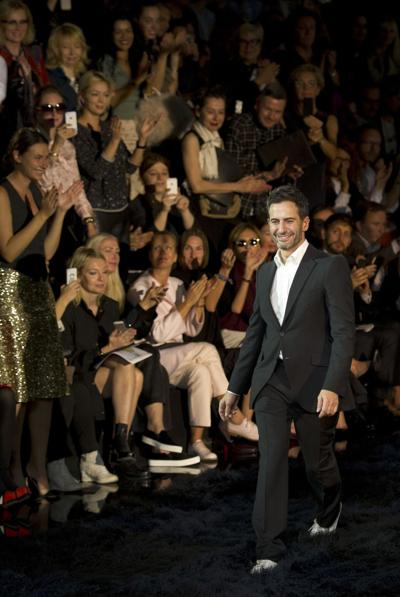 Marc Jacobs' farewell to Vuitton is a dark one