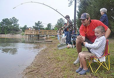 DNR schedules fishing events
