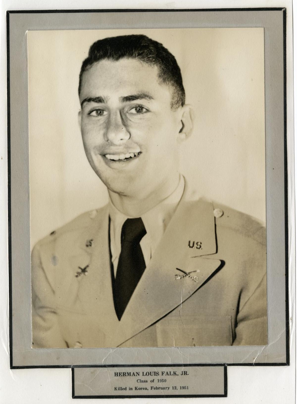 1 Lt. Herman Falk