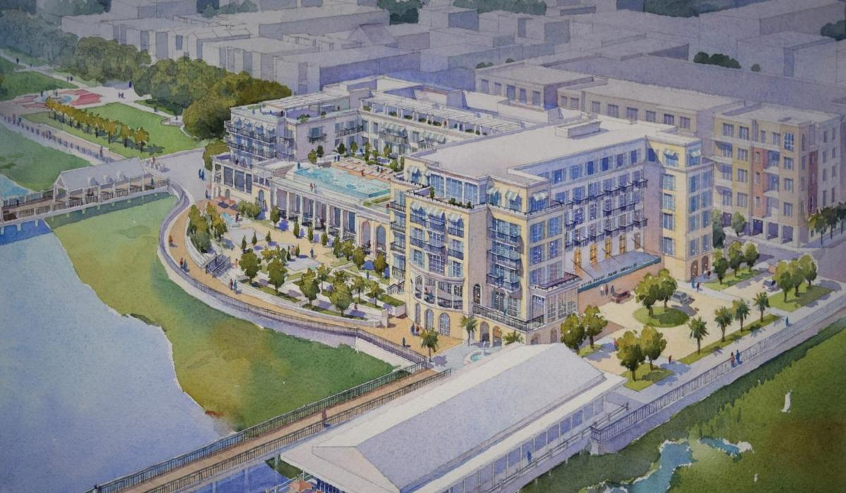 SPA hotel at 176 Concord St. rendering