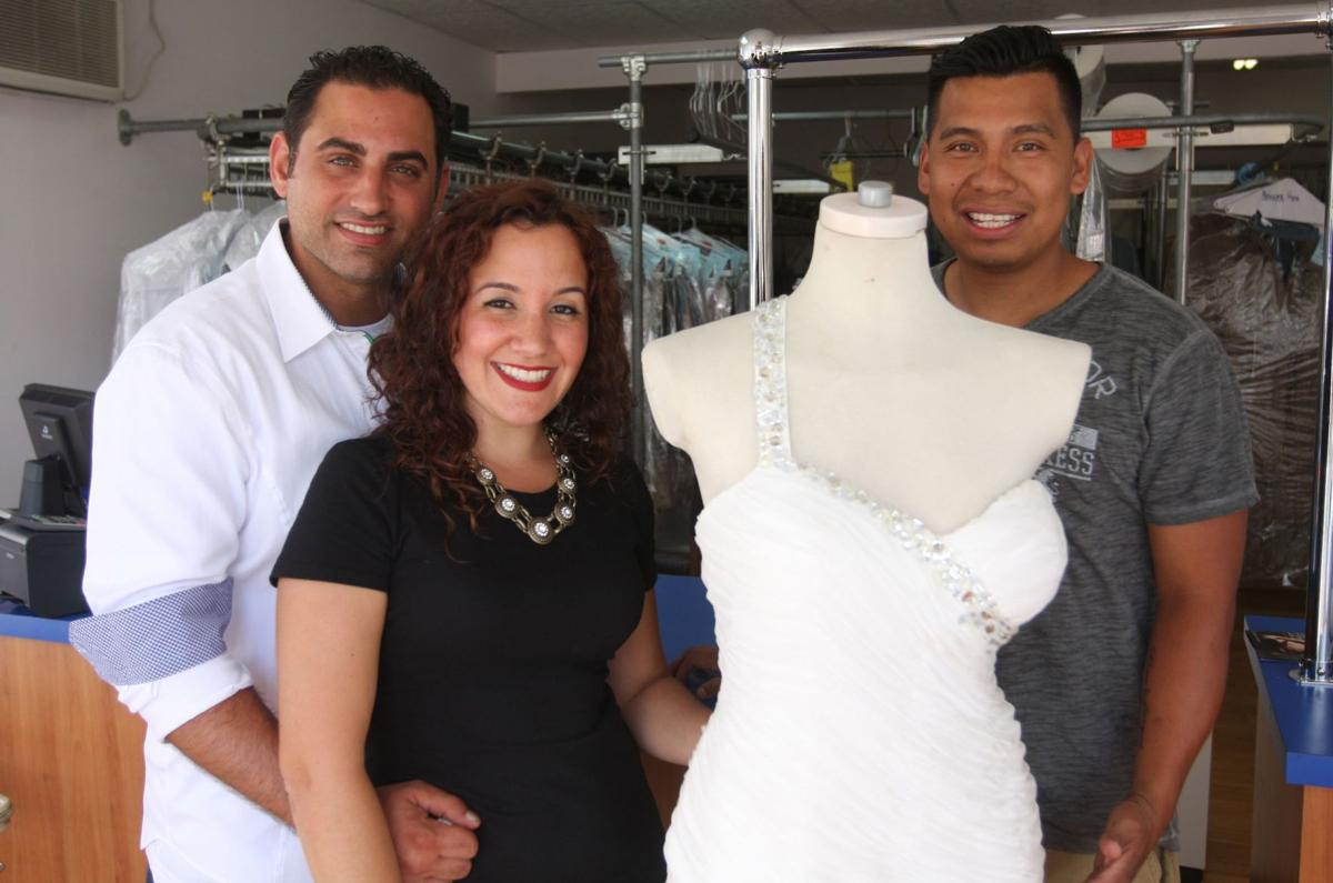 Woman finds wedding dress lost after Sandy