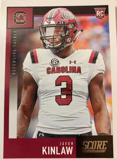 Javon Kinlaw Rookie Card