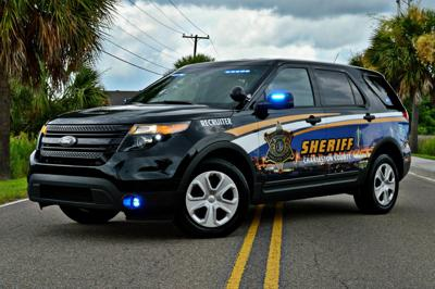 Charleston County Sheriff's Office vehicle (copy)