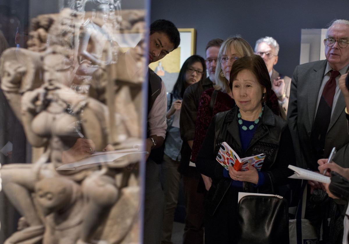 Smithsonian opens yoga art exhibit