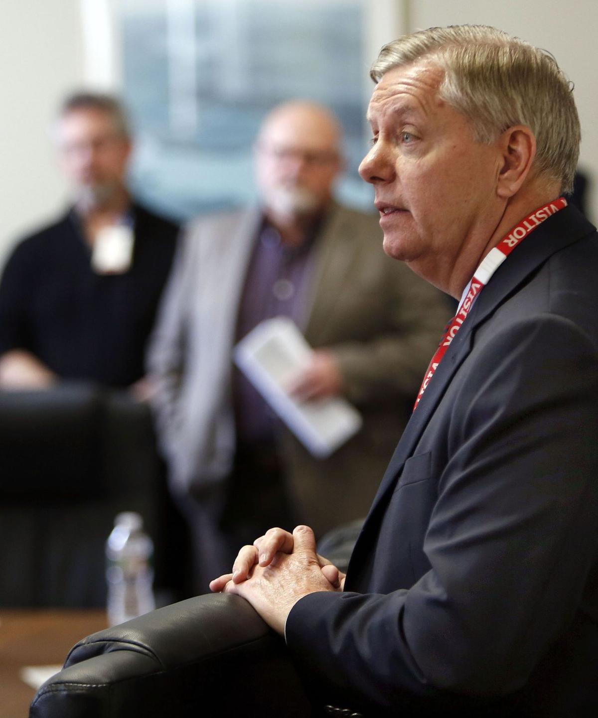 With Paul running, GOP foe Lindsey Graham tries to stand in the way
