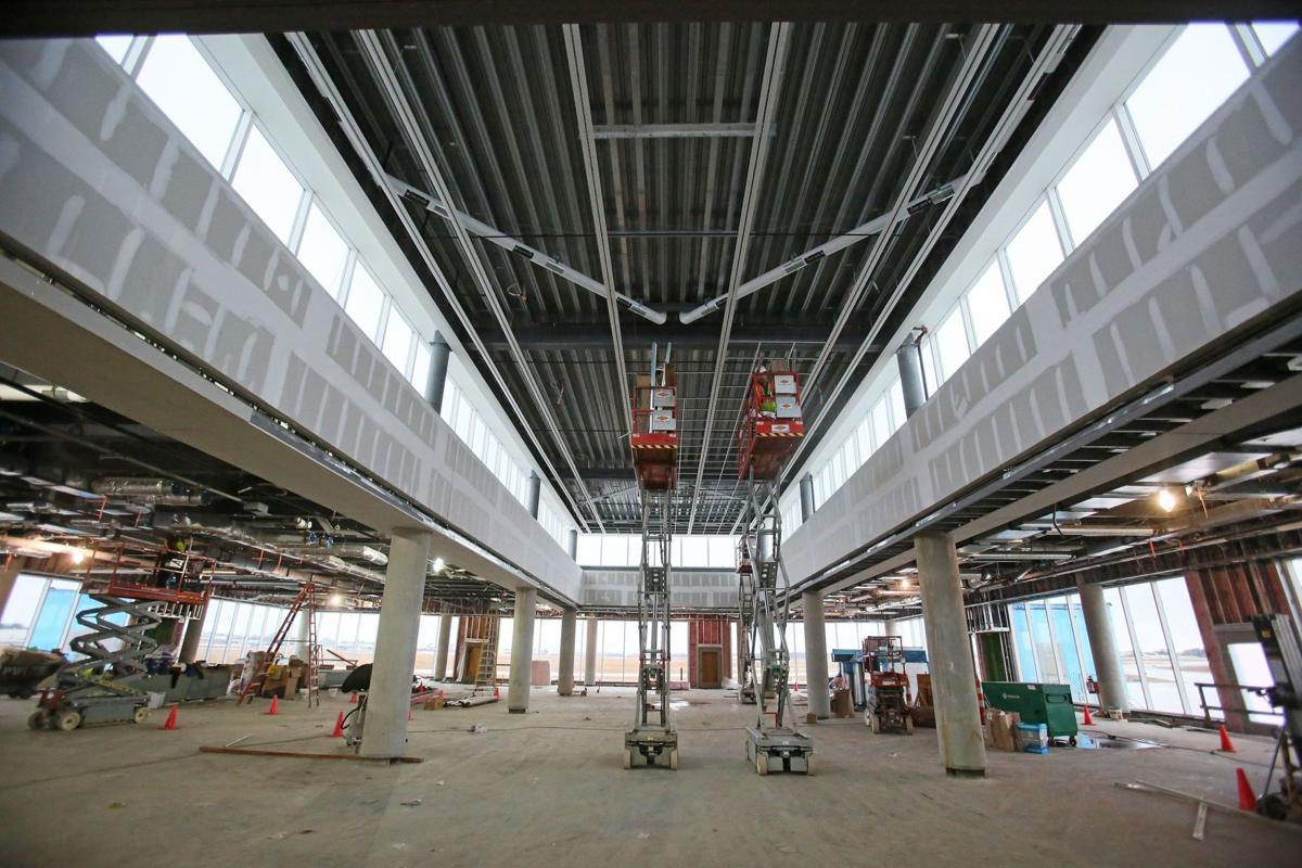 Airport terminal skylight could cost $1.6 million