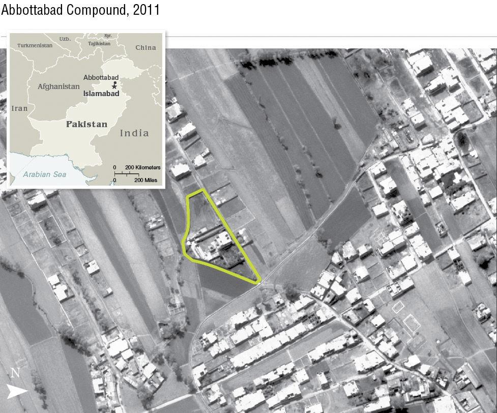 Bin Laden's demise: Long pursuit, burst of gunfire
