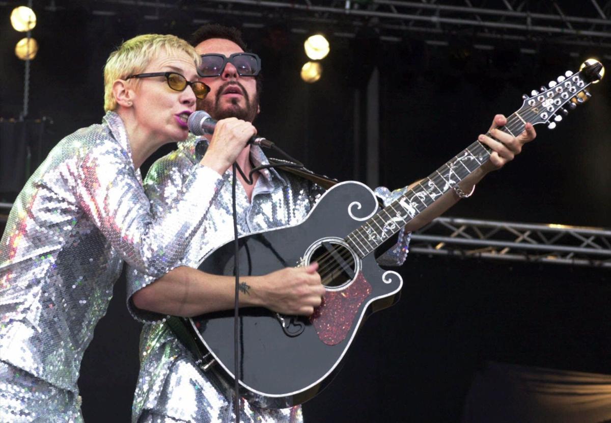 Sweet dream: Eurythmics uniting at Beatles tribute show