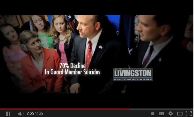 Decrease in guard suicide numbers part of political campaign