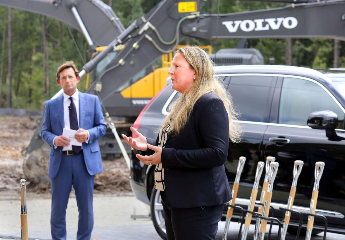 Volvo executive ready to roll From China to S.C., Fjording here to foster collaborative effort at new Berkeley car plant (copy)