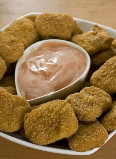 Chicken bites can be nuggets of fat, salt
