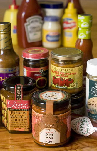 Flavorful condiments tempt palates
