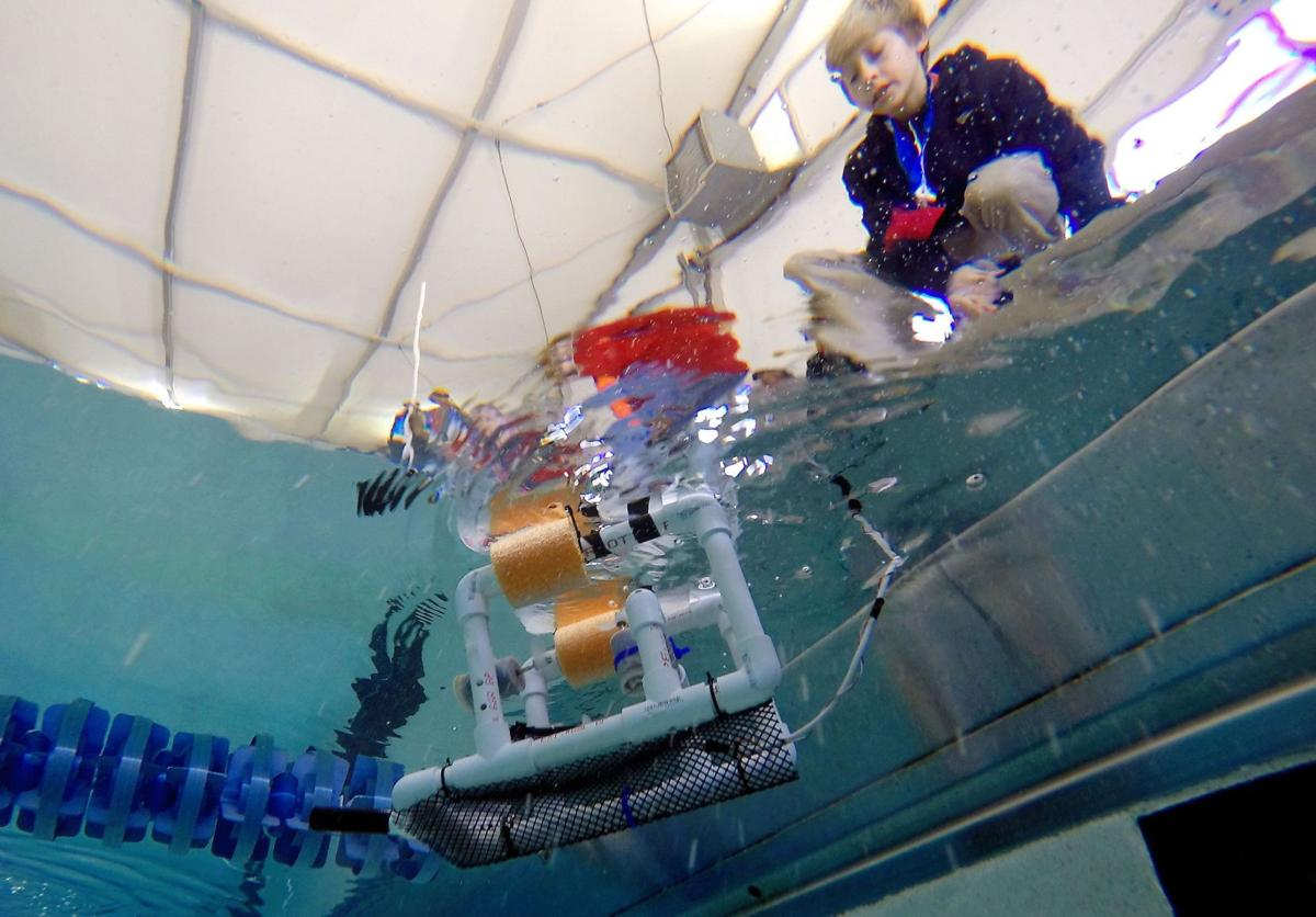 Robots keep students immersed in learning