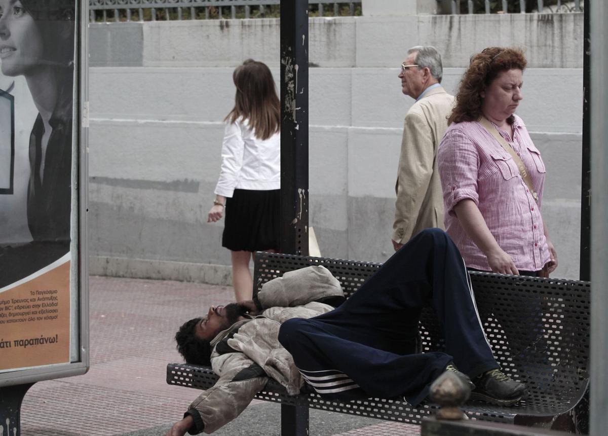 Warning on euro, Greece