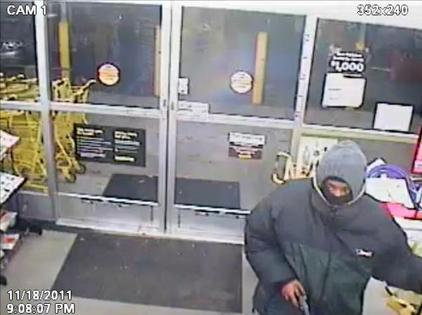 Photos released of suspect in robbery