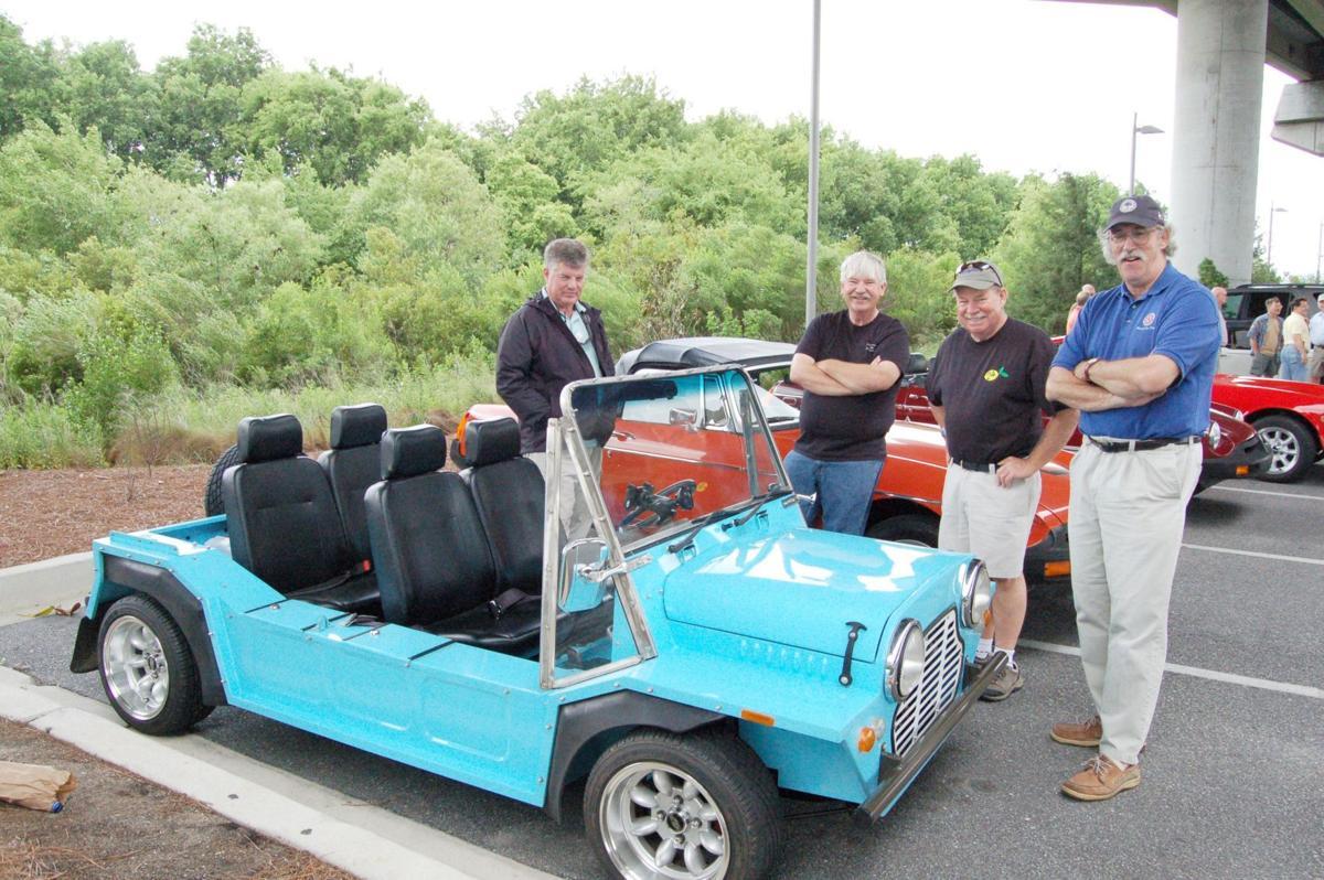British motoring get-together, planned as monthly event, enjoys regal debut