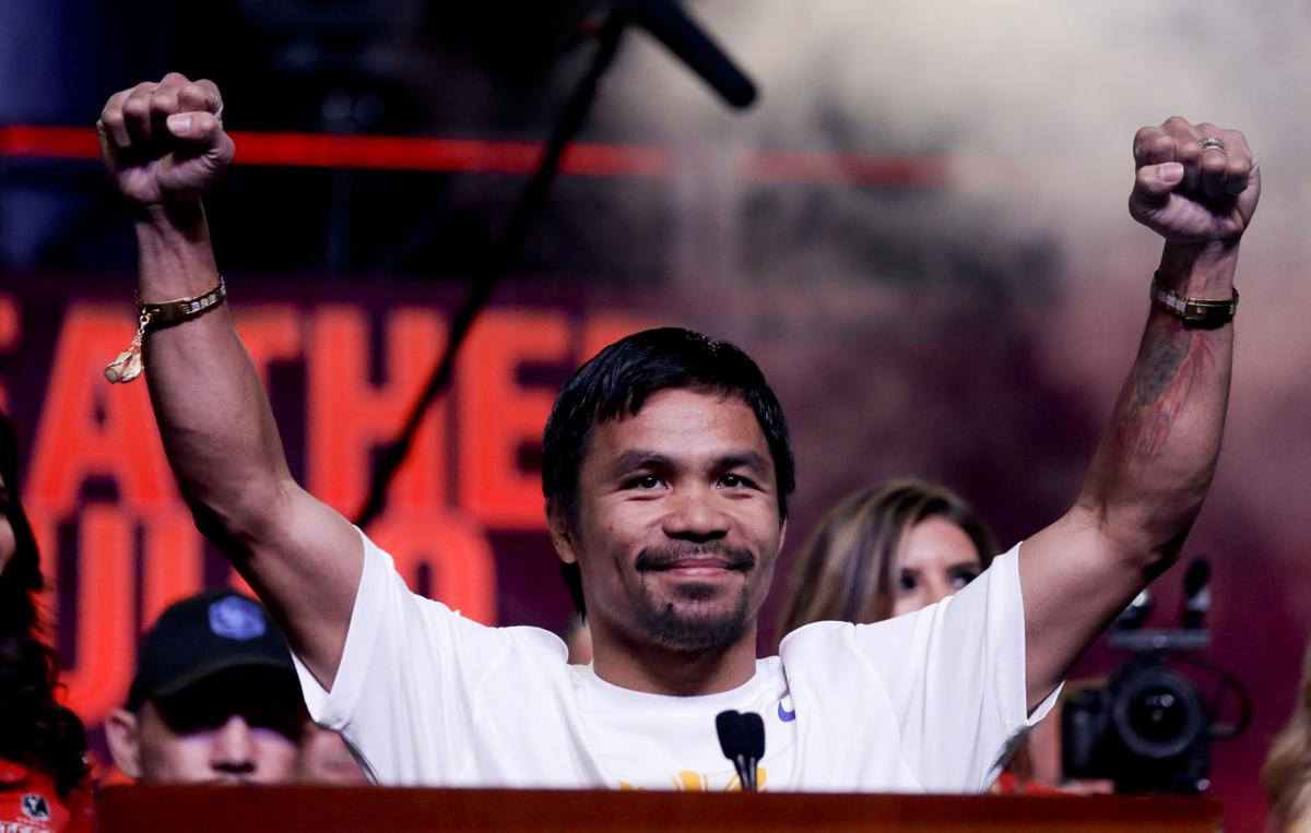 Questions surrounding rotator cuff tear in Manny Pacquiao's shoulder