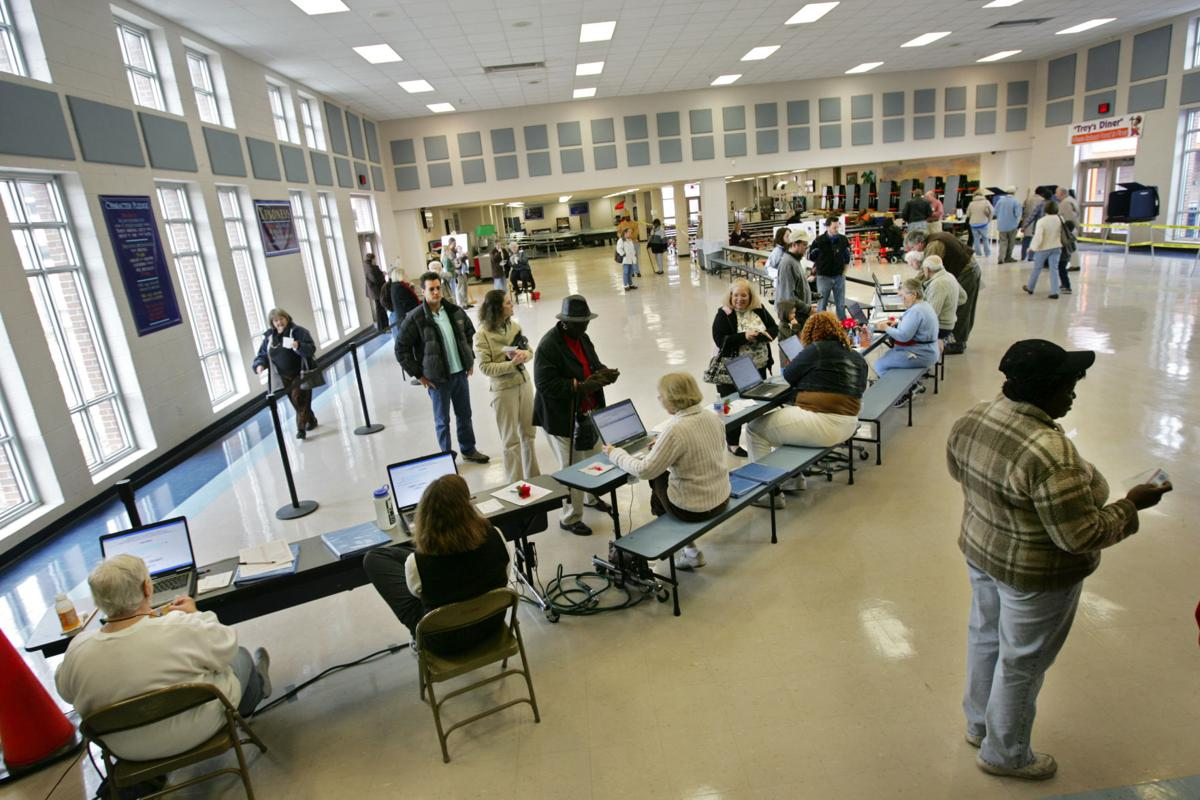 Polling places mostly remain the same